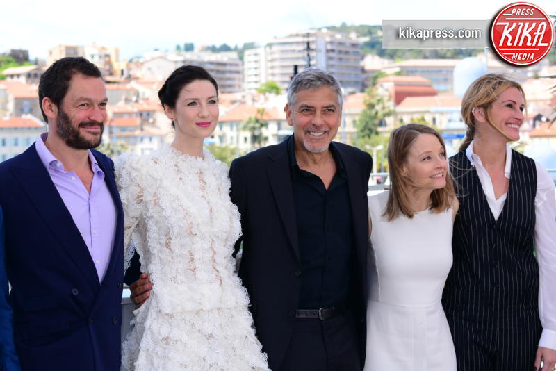 Catriona Balfe, Jodie Foster, George Clooney, Julia Roberts - Cannes - 12-05-2016 - Cannes 2016: la seconda giornata della kermesse