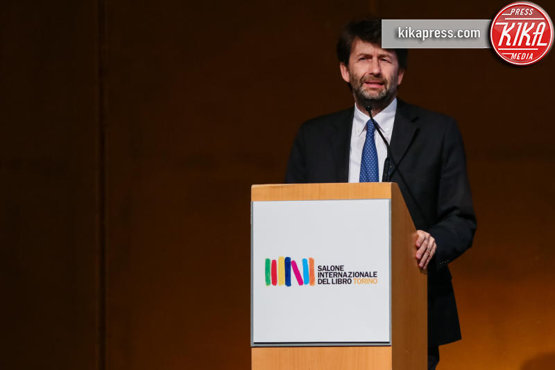 Salone del libro, Dario Franceschini - Torino - 12-05-2016 - Torino, successo per il Salone del Libro