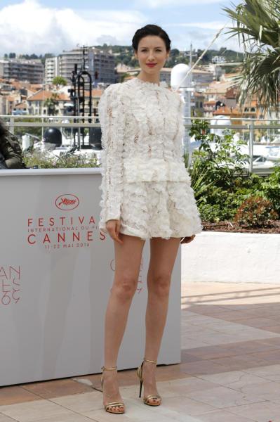 Caitriona Balfe - Cannes - 12-05-2016 - Bianco o pastello, ecco il pizzo dell'estate!