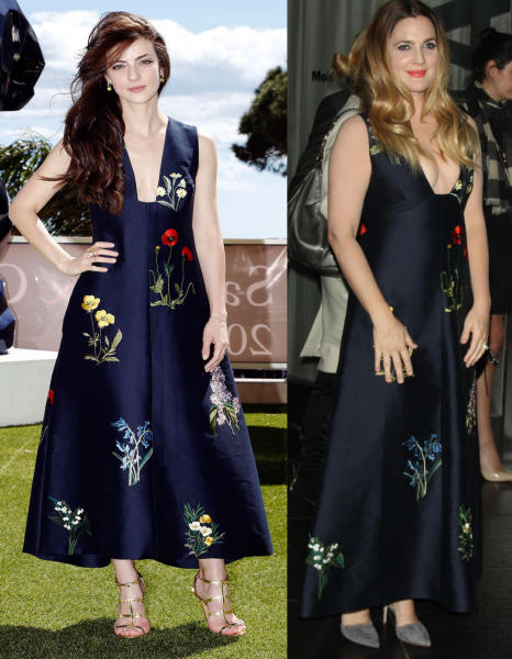 Barbara Ronchi, Drew Barrymore - Cannes - 12-05-2016 - Chi lo indossa meglio? Italiane vs Straniere