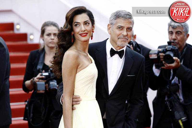 Amal Alamuddin, George Clooney - Cannes - 13-05-2016 - George Clooney pensa alla Casa Bianca