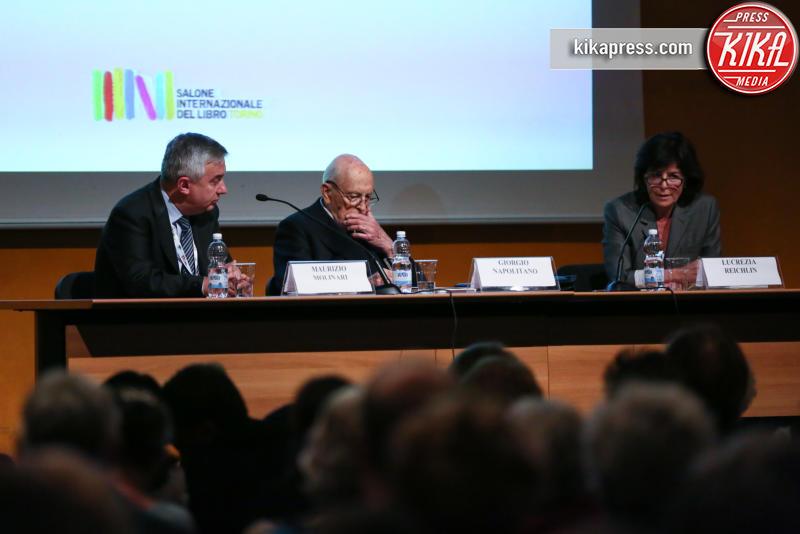 Maurizio Molinari, Giorgio Napolitano - Torino - 12-05-2016 - Europa, politica e passione: ecco il nuovo libro di Napolitano