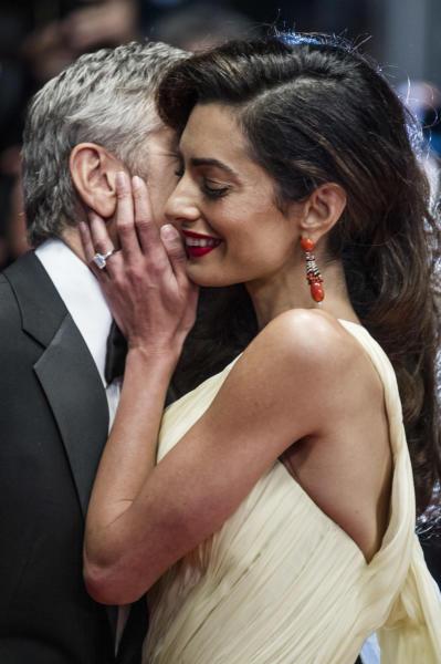 Amal Alamuddin, George Clooney - Cannes - 12-05-2016 - Amal, ma sei incinta di due gemelli oppure no?