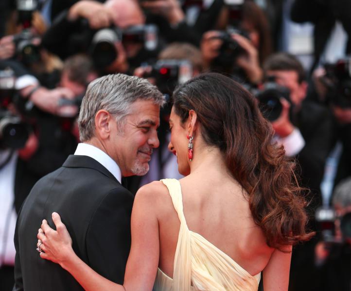 Amal Alamuddin, George Clooney - Cannes - 12-05-2016 - Qui sono nati i gemellini Clooney: entrate con noi