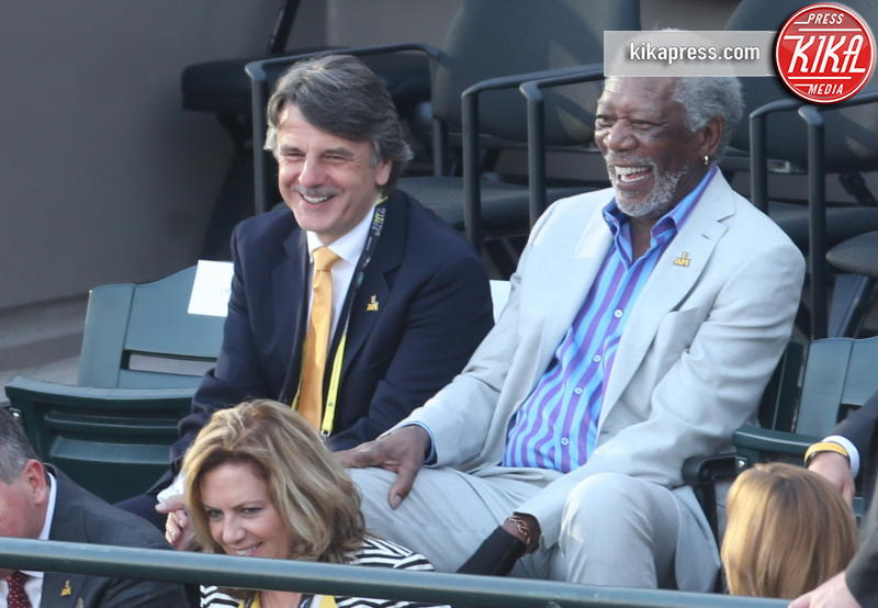 Morgan Freeman - Orlando - 08-05-2016 - Morgan Freeman mandrillone: ecco il baciamano a Michelle Obama