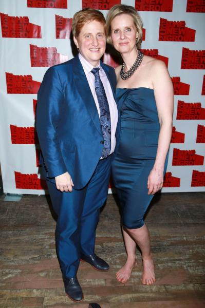 Christine Marinoni, Cynthia Nixon - New York - 11-02-2015 - Cannes 2018: Kristen come Julia, piedi nudi sul red carpet