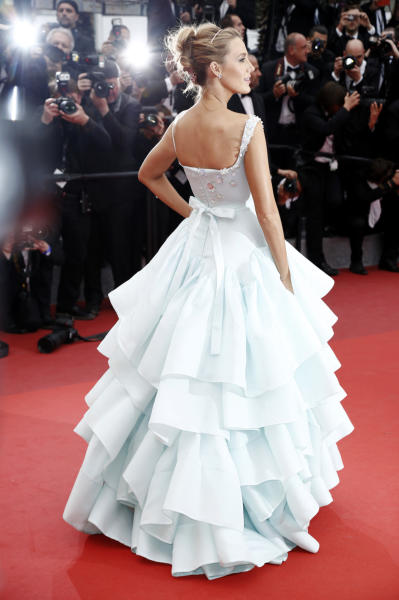 Blake Lively - Cannes - 14-05-2016 - Cannes 2016, Blake Lively è una Cenerentola sul red carpet