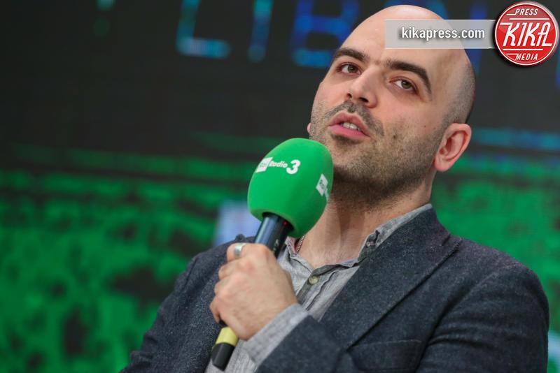 Roberto Saviano - Torino - 14-05-2016 - Roberto Saviano, una serie tv sulla vita di Gheddafi