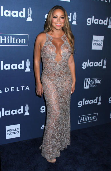 Mariah Carey - New York - 14-05-2016 - Diane Kruger e Robert De Niro protagonisti ai GLAAD Awards