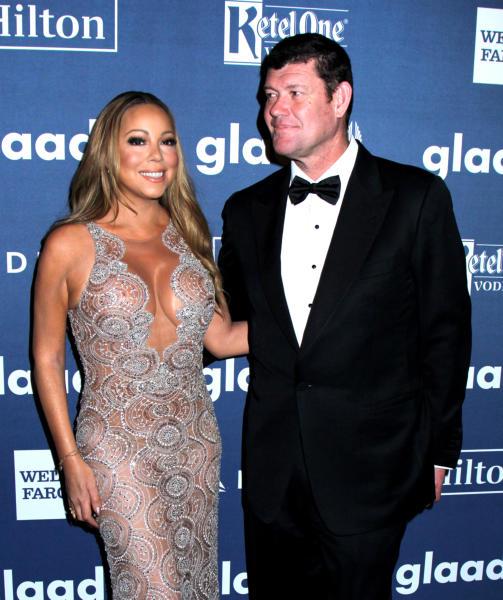 James Packer, Mariah Carey - New York - 14-05-2016 - Diane Kruger e Robert De Niro protagonisti ai GLAAD Awards