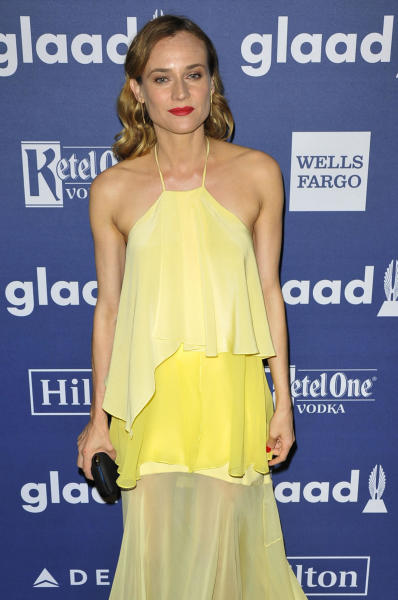 Diane Kruger - New York - 15-05-2016 - Diane Kruger e Robert De Niro protagonisti ai GLAAD Awards