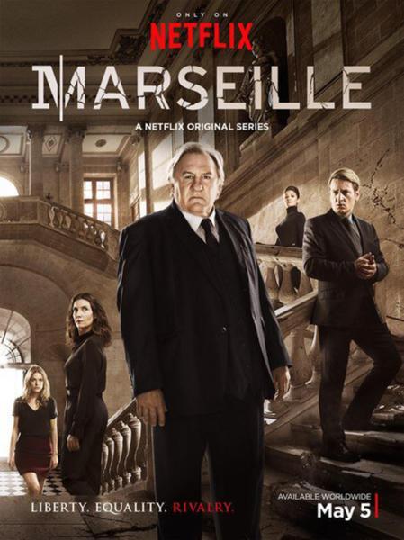 Gerard Depardieu, Benoit Magimel - 16-05-2016 - Marseille: con Gérard Depardieu Netflix porta la politica in TV