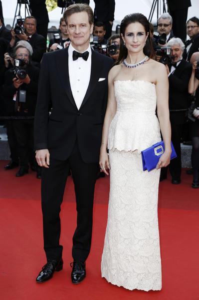 Livia Giuggioli, Colin Firth - Cannes - 17-05-2016 - Colin Firth a un passo da Kursk, il nuovo film di Vinterberg