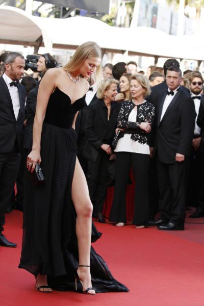 Toni Garn - Cannes - 16-05-2016 - Cannes 2017: vi ricordate lo spacco di Bella Hadid?
