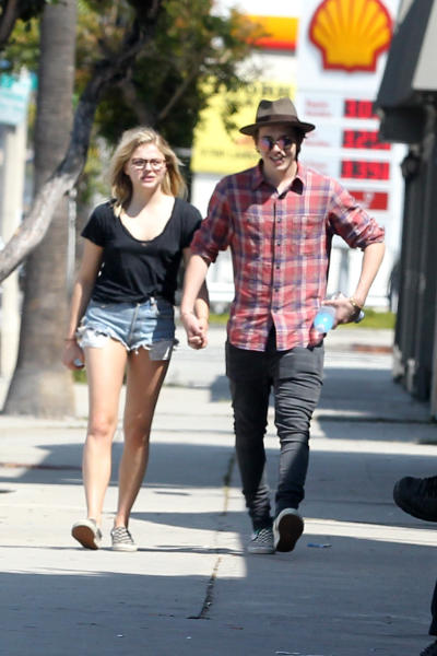 Chloe Grace Moretz, Brooklyn Beckham - Los Angeles - 17-05-2016 - Chloë Grace Moretz e Brooklyn Beckham e l'amore nato in palestra