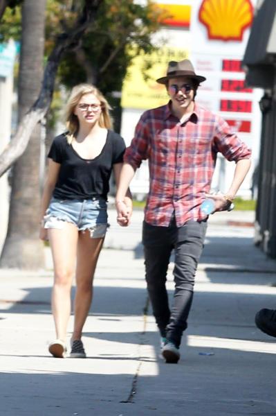 Chloe Moretz, Brooklyn Beckham - Los Angeles - 17-05-2016 - Beckham Jr-Chloe Moretz, ormai siete ovunque!