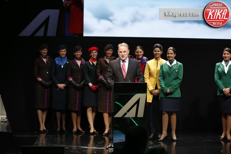 Alitalia day - Milano - 19-05-2016 - Malika Ayane presenta le nuove divise di Alitalia