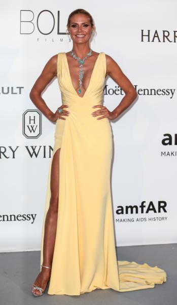 Heidi Klum - Cap D Antibes - 19-05-2016 - Cannes 2017: vi ricordate lo spacco di Bella Hadid?