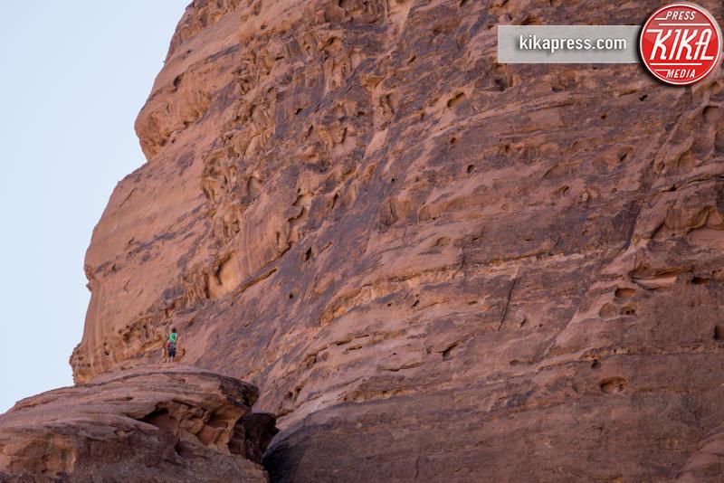 Leo Houlding - Giordania - 18-05-2016 - La scalata di Leo Houlding sul Pillar of Wisdom