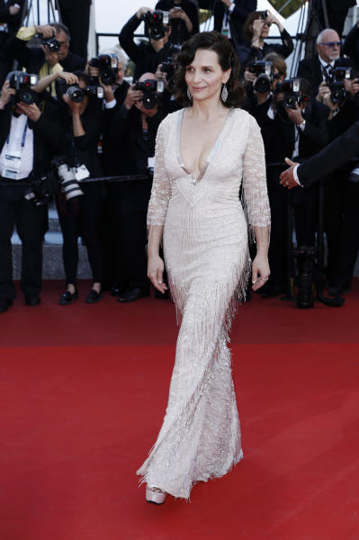 Juliette Binoche - Cannes - 21-05-2016 - Le star che sanno osare: sensualità over 50 sul red carpet