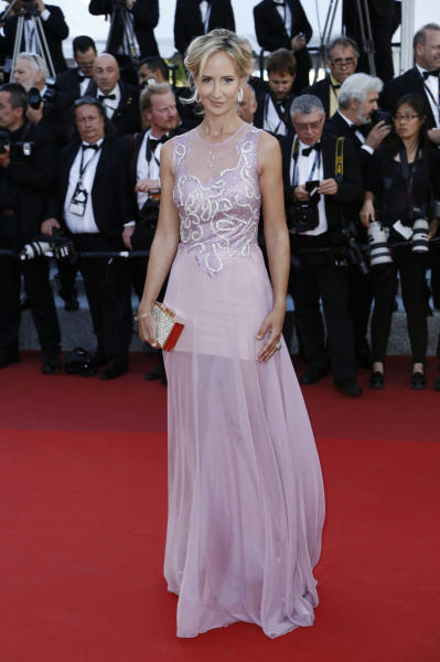 Lady Victoria Harvey - Cannes - 21-05-2016 - Lilla e lavanda, le nuove sfumature dell'autunno