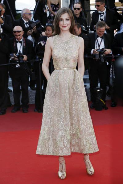 Alexandra Maria Lara - Cannes - 21-05-2016 - Natale e Capodanno: a ciascuna la sua forma e... il suo abito!