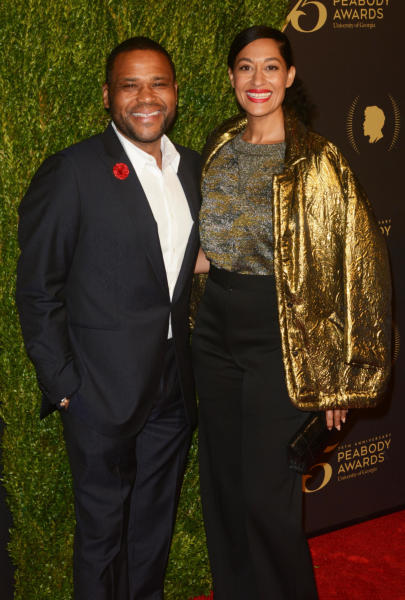 Tracee Ellis Ross, Anthony Anderson - New York - 22-05-2016 - Krysten Ritter eccelle ai 75esimi Peabody Awards