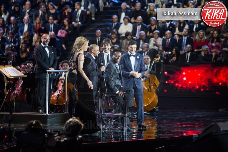 Javier Zanetti, Pelè - Milano - 26-05-2016 - Bocelli & Zanetti Night: il calcio e la musica uniti per Haiti