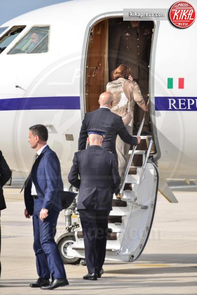 Panoramica - Ciampino - 28-05-2016 - Il marò Salvatore Girone atterrato a Ciampino