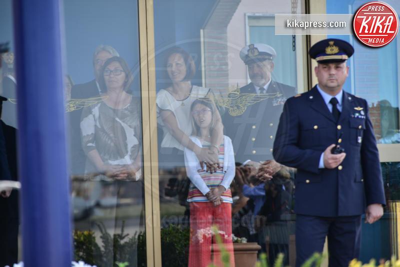 Famiglia Girone - Ciampino - 28-05-2016 - Il marò Salvatore Girone atterrato a Ciampino