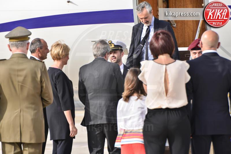 Salvatore Girone - Ciampino - 28-05-2016 - Il marò Salvatore Girone atterrato a Ciampino