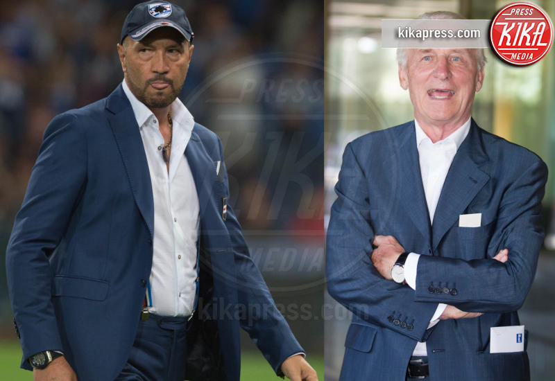 Genova - 23-08-2015 - Walter Zenga scalza il Trap come commentatore dell'Italia