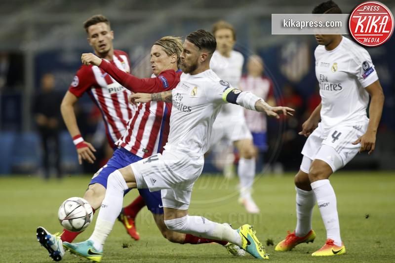 Casemiro, Fernando Torres, Sergio Ramos - Milano - 25-05-2016 - Il Real Madrid vince la sua Undècima Champions League