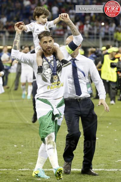 Sergio Ramos in Sohn - Milano - 25-05-2016 - Il Real Madrid vince la sua Undècima Champions League