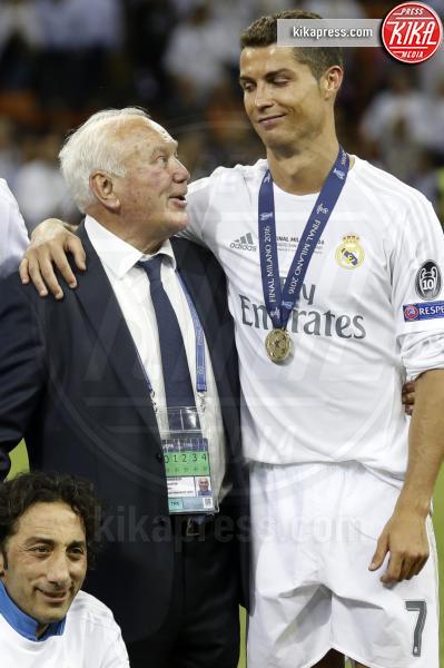 Agustin Herrerin, Cristiano Ronaldo - Milano - 25-05-2016 - Il Real Madrid vince la sua Undècima Champions League