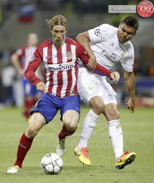 Casemiro, Fernando Torres - Milano - 25-05-2016 - Il Real Madrid vince la sua Undècima Champions League
