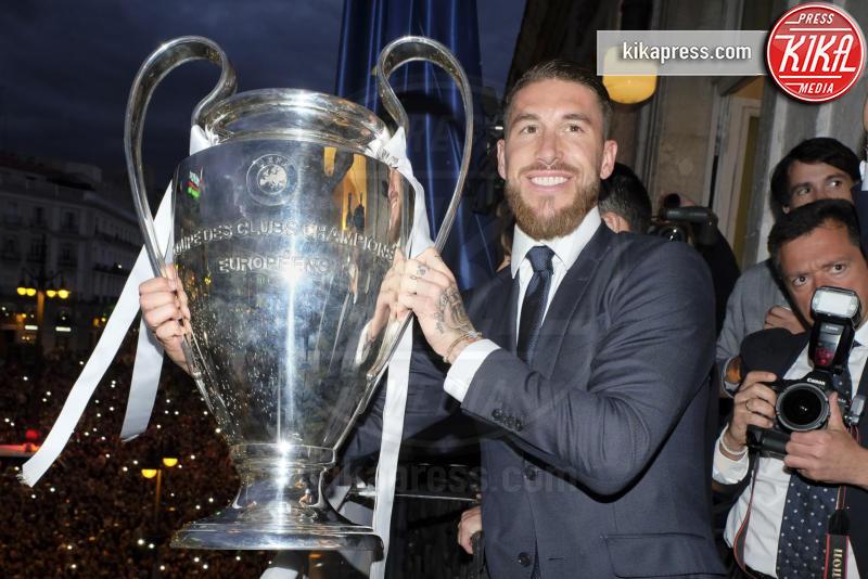 Sergio Ramos - Milano - 25-05-2016 - Il Real Madrid vince la sua Undècima Champions League