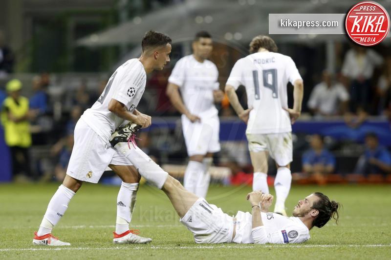 Lucas Vázquez, Gareth Bale - Milano - 25-05-2016 - Il Real Madrid vince la sua Undècima Champions League