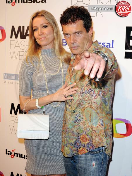 Nicole Kimpel, Antonio Banderas - Miami Beach - 03-06-2016 - Antonio Banderas ricoverato d'urgenza: paura per l'attore