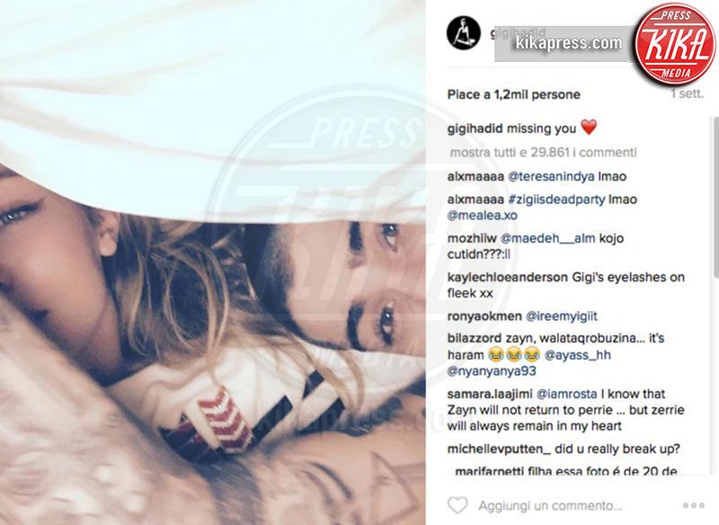 Gigi Hadid, Zayn Malik - 03-06-2016 - Gigi Hadid e Zayn Malik, scoppia la coppia dopo 7 mesi