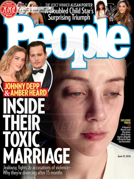 Amber Heard, Johnny Depp - 05-06-2016 - Johnny Depp fa causa al The Sun per diffamazione