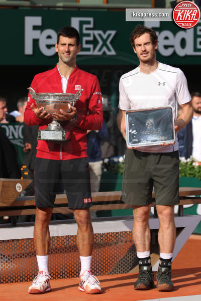 Andy Murray, Novak Djokovic - Parigi - 05-06-2016 - Novak Djokovic è il re di Parigi al Roland Garros