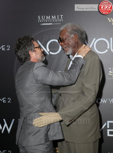 Morgan Freeman, Mark Ruffalo - New York - 07-06-2016 - Morgan Freeman accusato di molestie sessuali da otto donne