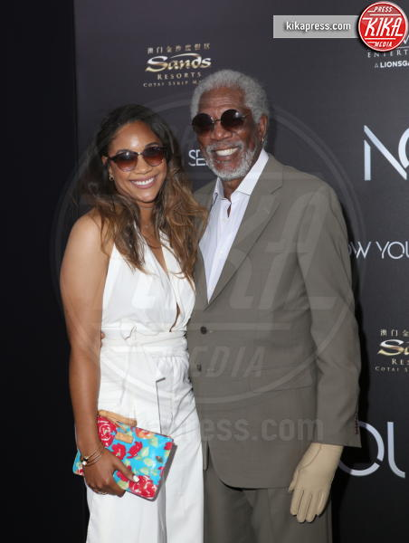 Alexis Freeman, Morgan Freeman - New York - 07-06-2016 - Morgan Freeman accusato di molestie sessuali da otto donne