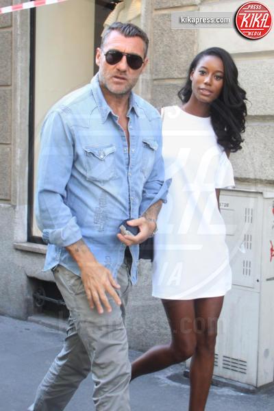 Jazzma Kendrick, Christian Vieri - Milano - 08-06-2016 - Bobo Vieri: ecco la sua nuova fidanzata