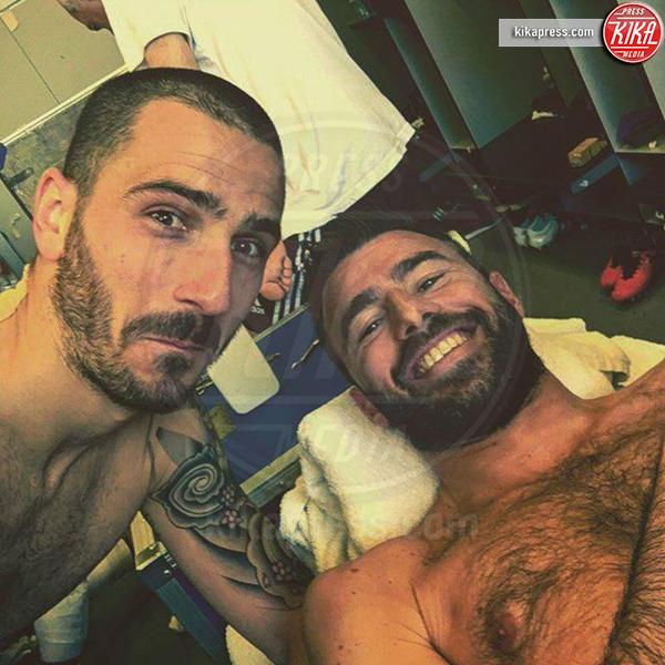 Leonardo Bonucci, Andrea Barzagli - Milano - 09-06-2016 - Euro 2016: qual è il calciatore più sexy?