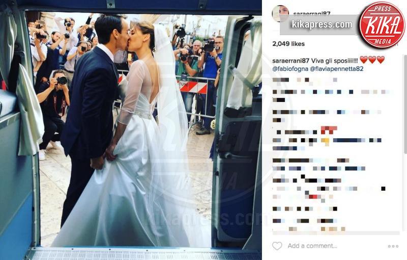 Fabio Fognini, Flavia Pennetta - Ostuni - 11-06-2016 - Flavia Pennetta e Fabio Fognini sposi: le foto del matrimonio