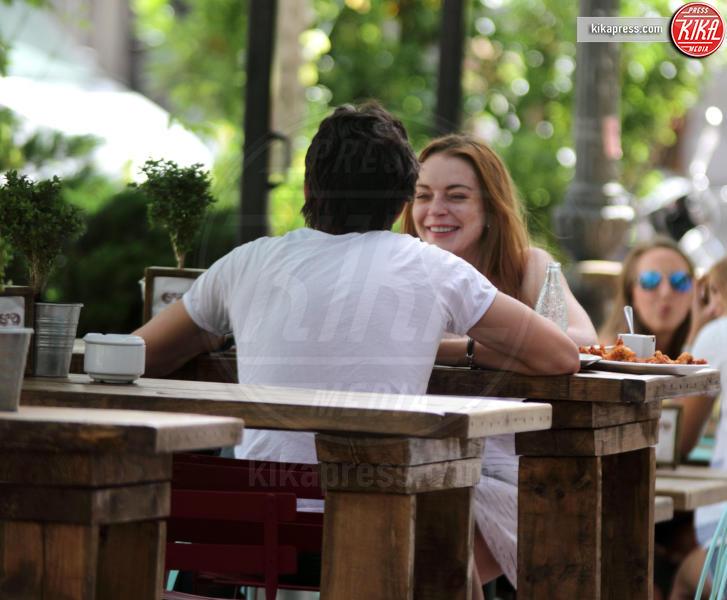 Egor Tarabasov, Lindsay Lohan - Madrid - 12-06-2016 - Lindsay Lohan incinta, e fidanzata, lo conferma il padre Michael