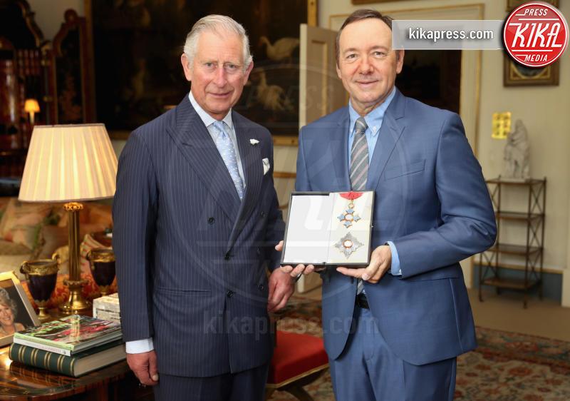Principe Carlo d'Inghilterra, Kevin Spacey - Londra - 16-06-2016 - Kevin Spacey  rilasciato su cauzione, rischia 5 anni di carcere