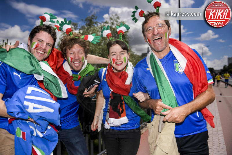 Tifosi italiani - Toulouse - 17-06-2016 - Euro 2016: Italia-Svezia, Eder regala la qualificazione